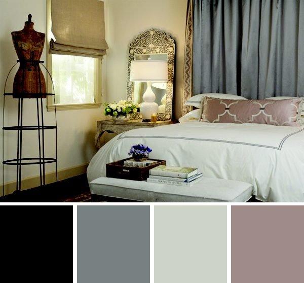 paleta de cores para quarto
